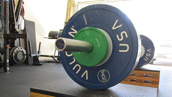 how much does the olympic bar weigh