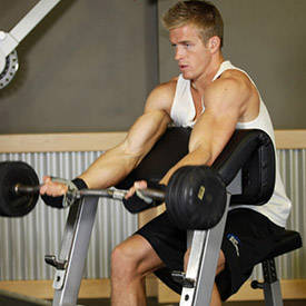 how to do cambered bar curls