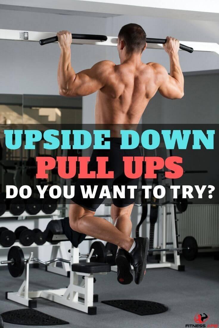 upside down pull ups