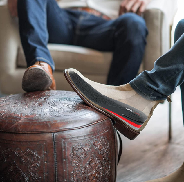 Height increase insoles make for a clever trick to boost height