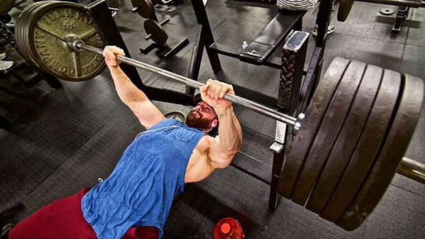 bench press more than squat