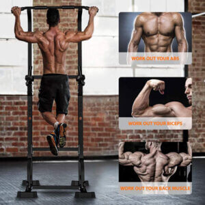best power tower with pull up bar for ab workouts