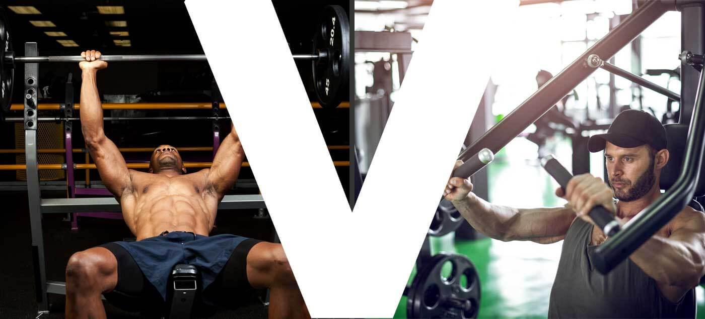 chest press vs bench press