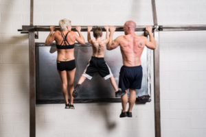 chin ups to work arms after chest day