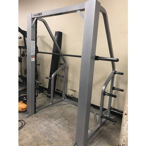 cybex smith machine bar weight