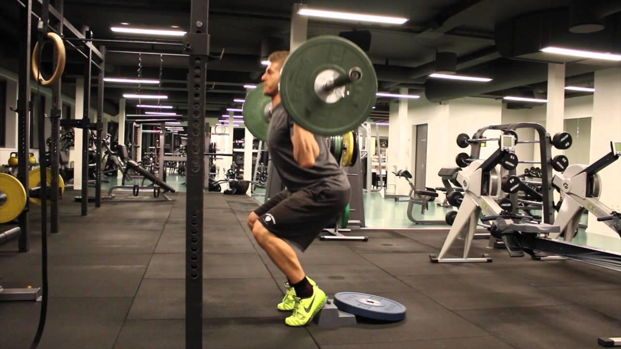 hack squat alternative - cyclist back squat