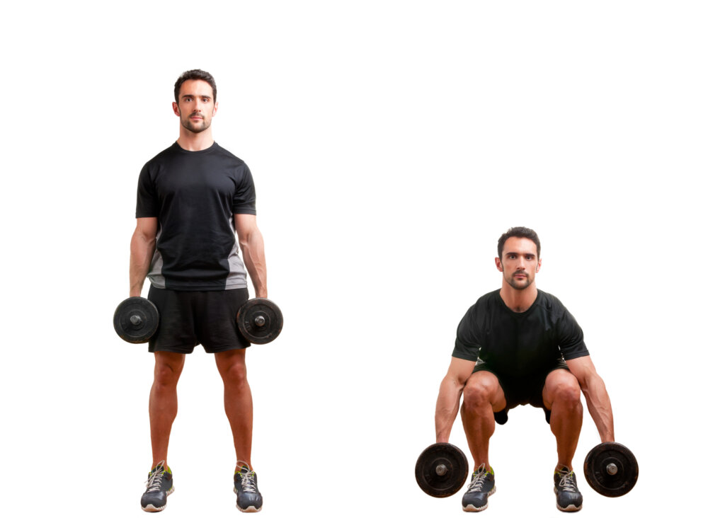 hack squat alternative exercise - free weight squats