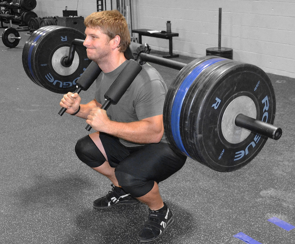 hack squat alternative exercise - safety bar squats