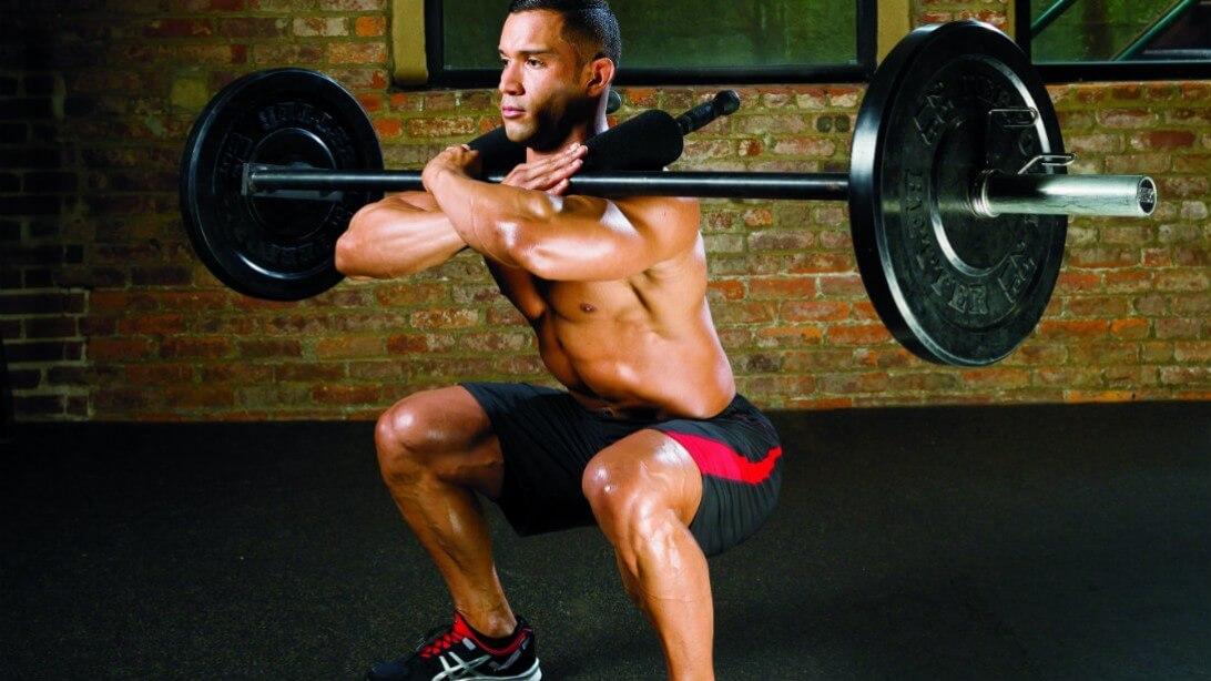 hack squat alternative - front squats