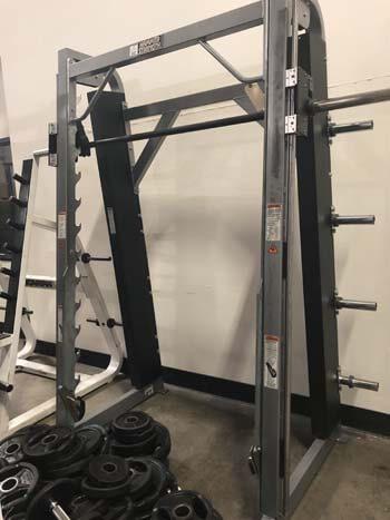 hammer strength smith machine bar weight