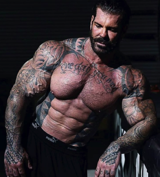muscle growth stories of rich piana