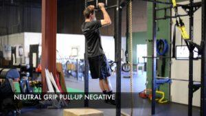 negative neutral grip pull ups