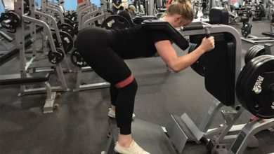 Photo of Reverse Hack Squat: How to Do It, Benefits, & Alternatives
