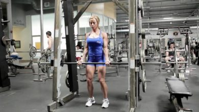 smith machine bar weight