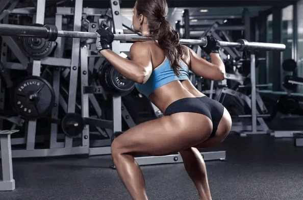 squats to get a jiggly butt