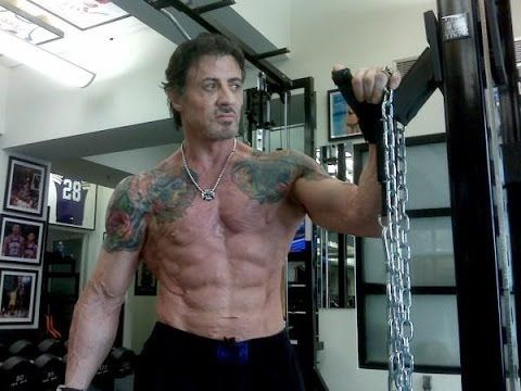 sylvester stallone muscle growth stories