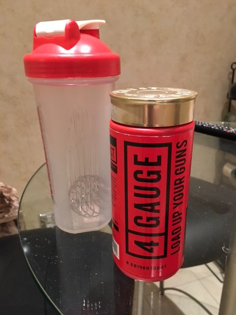 4 gauge pre workout without beta alanine review