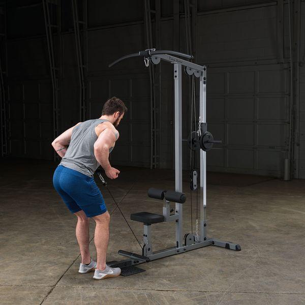 Body-Solid Pro Lat Machine - the best lat pulldown machine