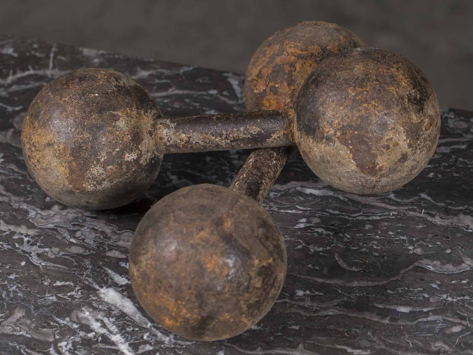 cast iron dumbbells for women