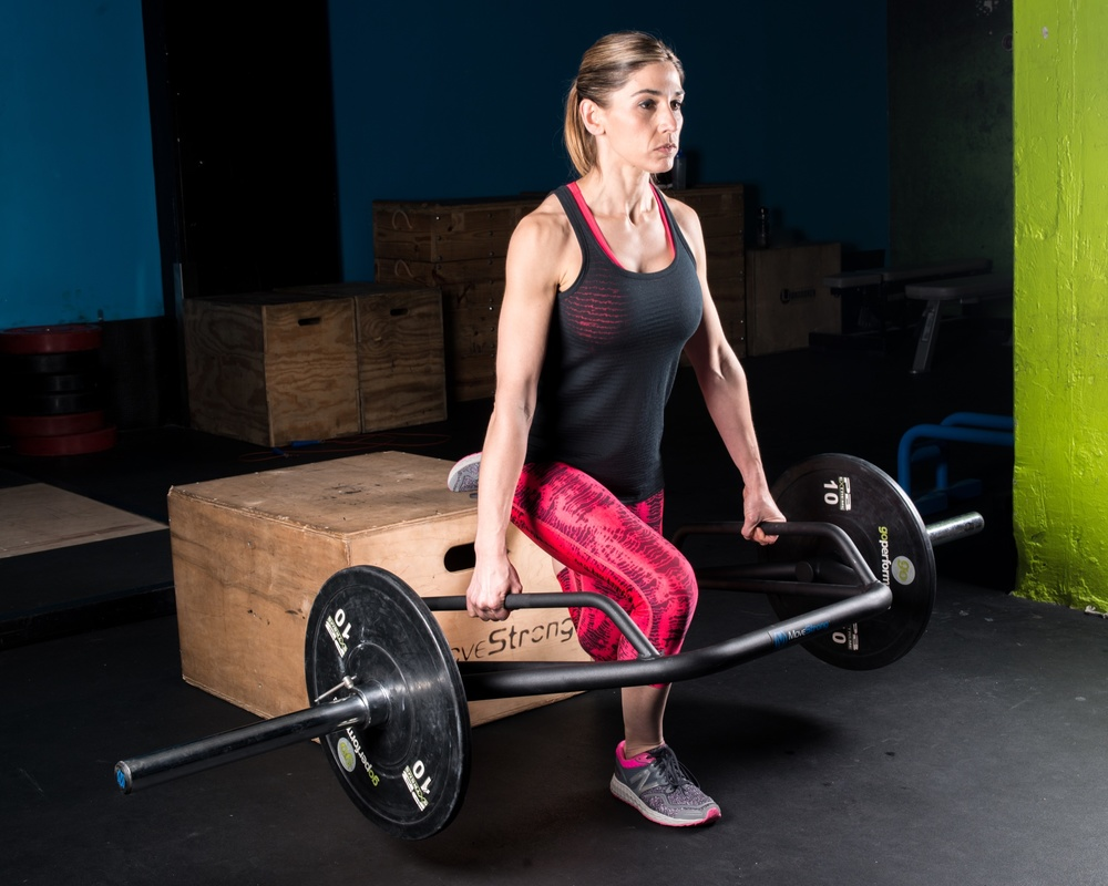 how much does a trap barbell weigh