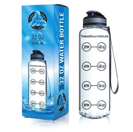 motivational water bottles our second best pick three drops of life