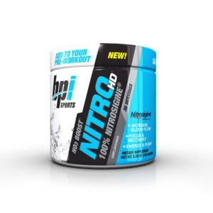 nitro hd pre workout without beta alanine