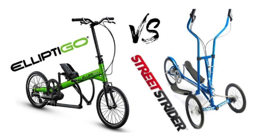 streestrider vs elliptigo differences
