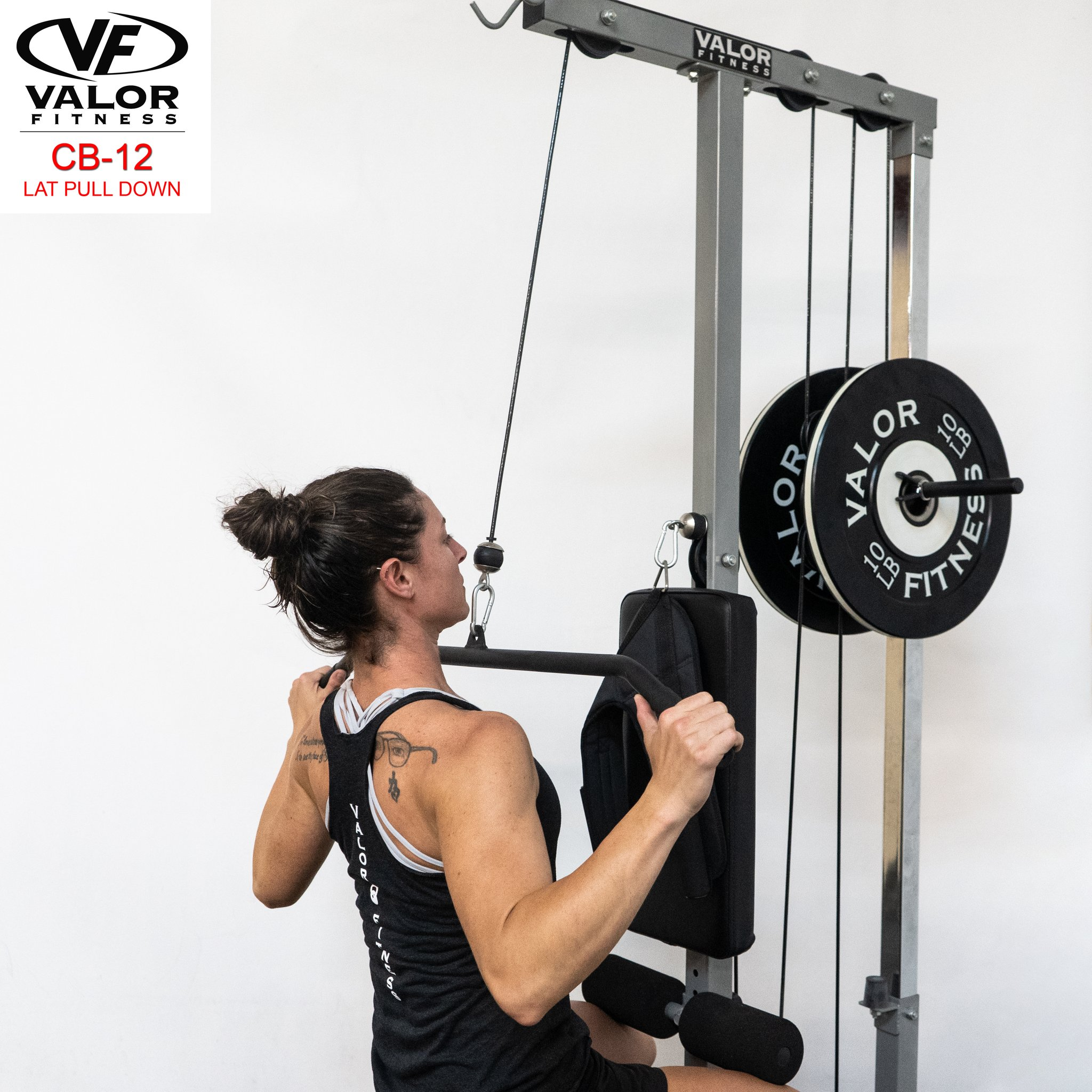 valor fitness lat pulldown machine