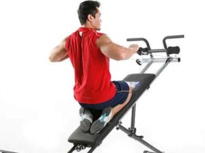 Weider Ultimate Body Works seated row exercise