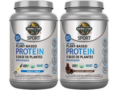Garden of Life Sport Organic Plant-Based Protein Powder for upset stomach