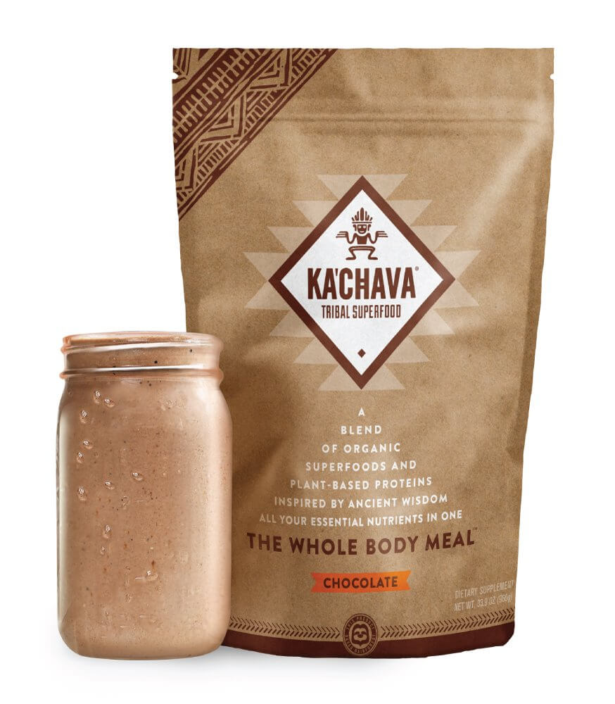 Ka'chava Plant-Based Superfood Meal Shake Powder for upset stomach
