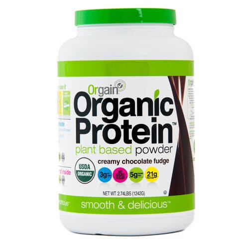 Orgain Protein™ & Superfoods Plant Based Protein Powder for upset stomach