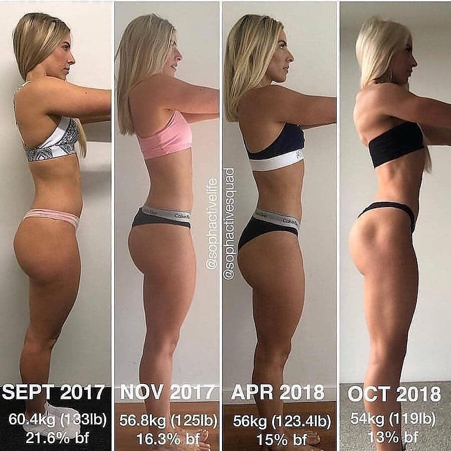 before and after mom butt