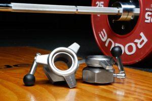 how much do bench press bar weight collars weigh