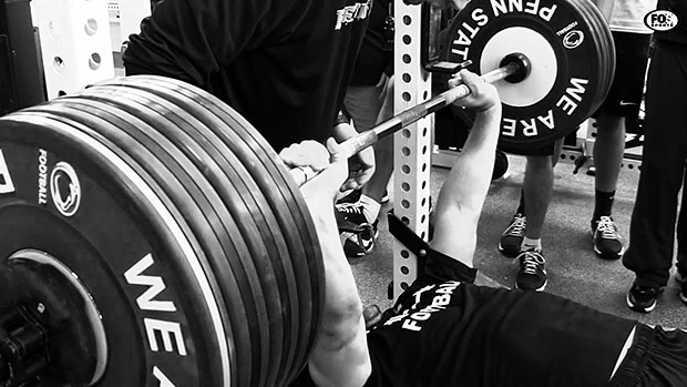how much weight should you be able to bench press on the bar