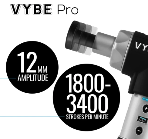 vybe percussion massagers vs theragun