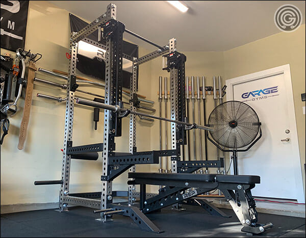 rep fitness power rack with lat pull down