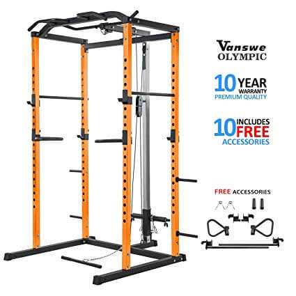 Power Rack with Lat Pull Down for sale