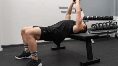 Dumbbell Pullover Exercise