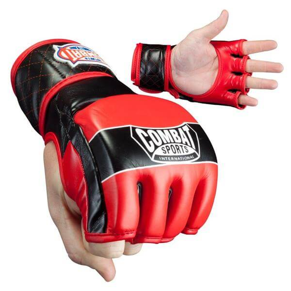 combat sports mma gloves for heavy bag