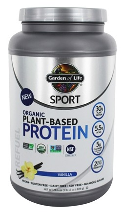 garden of life plant based protein powder for smoothies