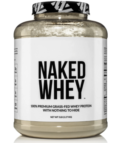 naked whey low sodium natural based protein powder