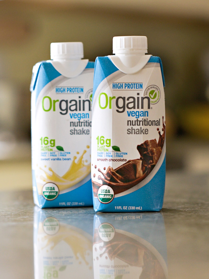 orgain protein meal replacement shake