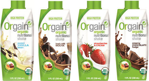 orgains meal replacement flavors