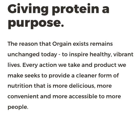 orgains mission