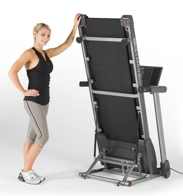 under bed folding treadmill
