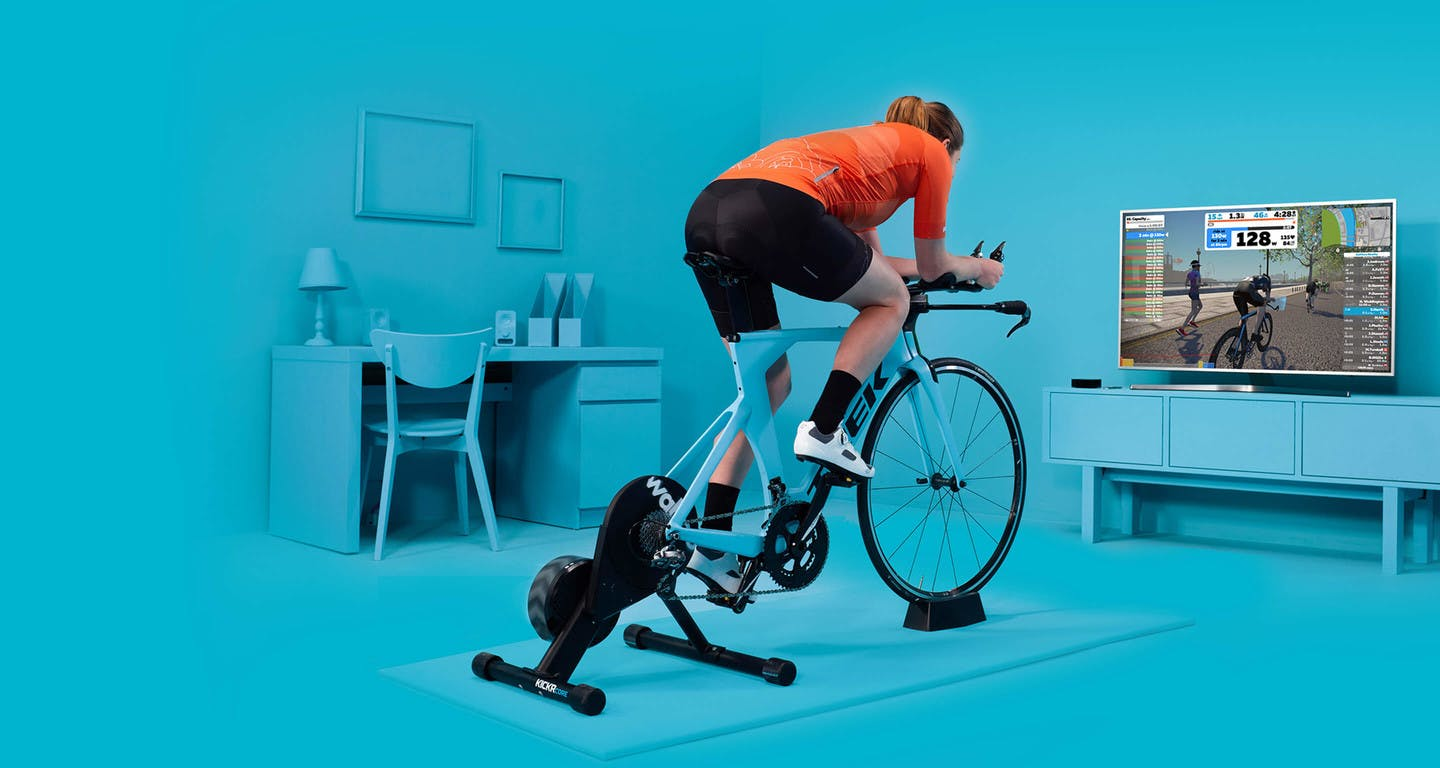 Benefits of Exercise Bikes - allows for interactive live training workouts