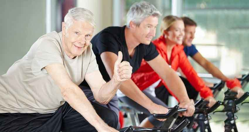 Benefits of Exercise Bikes - best for overweight users or elderly