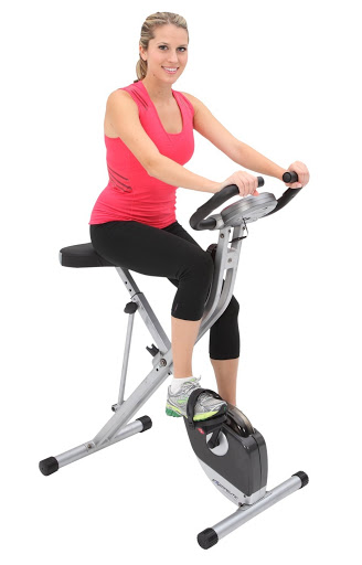Exerpeutic Folding Magnetic - Best Upright Exercise Bikes for Knee Rehab
