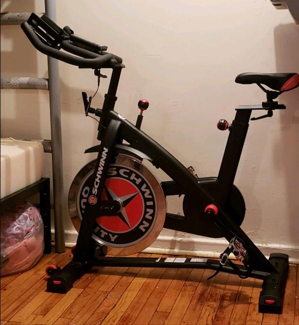 Schwinn IC3 - Best Upright Exercise Bikes for Knee Rehab